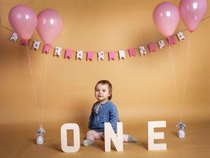 Big celebration of bing one